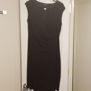 Ralph Lauren sleeveless wrap dress